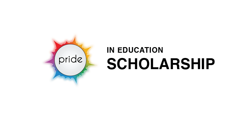 Pride in Education scholarship logo