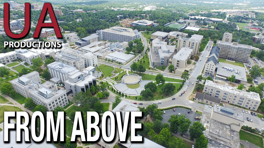 UARK From Above
