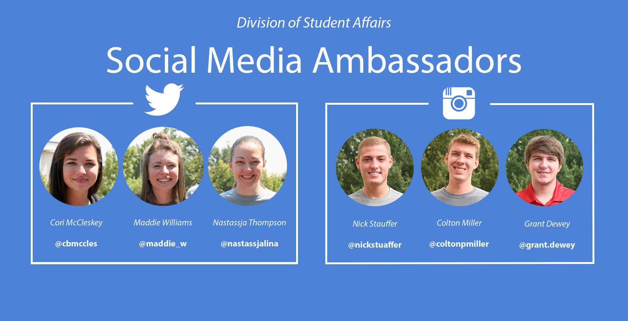@ua4student Ambassadors